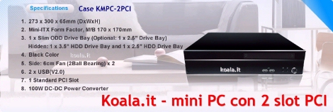 Mini PC 2 PCI