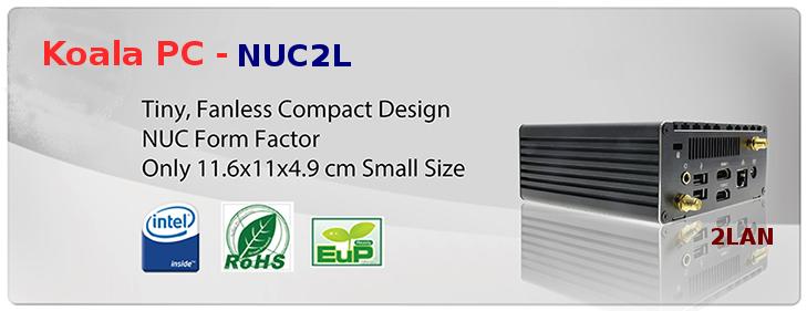 Mini PC NUC 2LAN