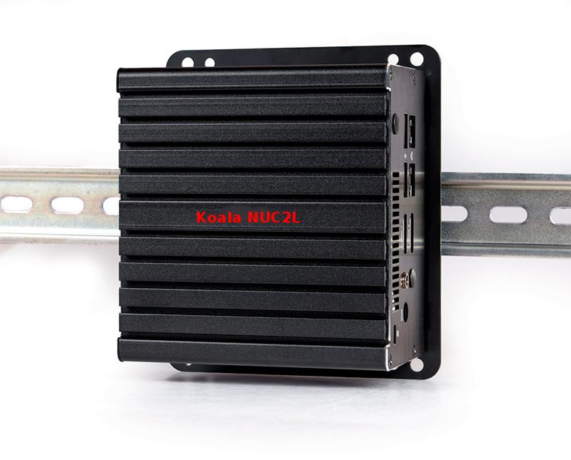 Mini PC montaggio DIN rail